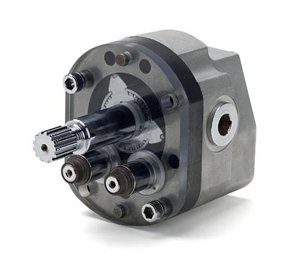 Rol seal hydraulic motors von ruden manufacturing for Von ruden hydraulic motor